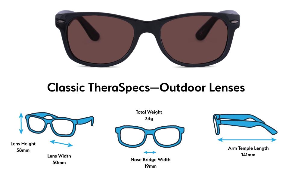 b4aac26fb480 Amazon.com  TheraSpecs Classic Migraine Glasses for Light ...