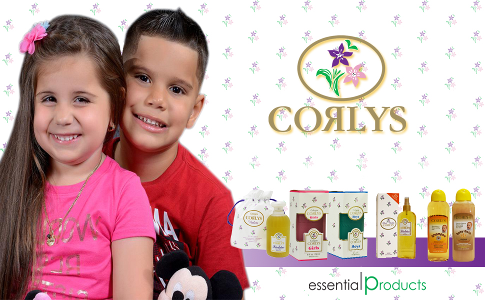 Corlys Violets Cologne 8oz. A Cuban Delight