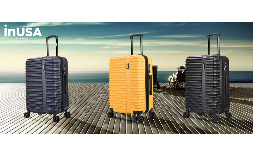 InUSA Ally Suitcase Luggage