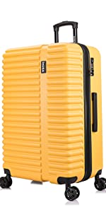 Yellow Mustard InUSA Ally Suitcase Luggage