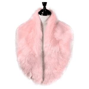 Caracilia Women s Winter Fake Faux Fur Scarf Wrap Collar Shawl Shrug ... 38464e88ee5d