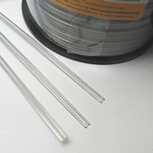 Wire Twist Ties | Amazon Com 100pcs Plastic Clear 7 Twist Ties Double Wire Heavy