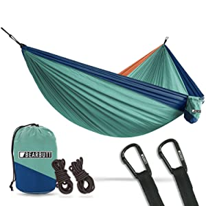outdoor camping hiking yoga dogs strong ripstop straps bear butt parachute hammock and hammocks
