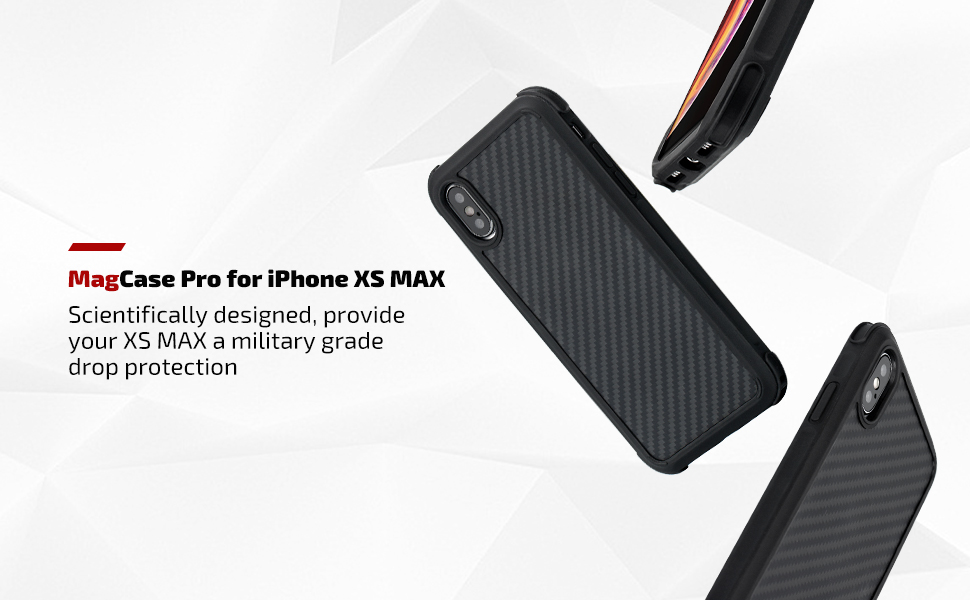 finest selection 7b8c7 14625 PITAKA Protective Case Compatible with iPhone Xs Max 6.5