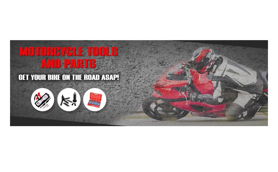 ALPHA MOTO Motorcycle Stand Front Fork Lift Sport Street Bike MX