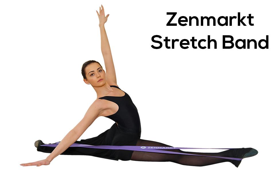 Zenmarkt Stretching Bands for Flexibility - Ballet Bands - Dance Band - Ballet Stretch Band