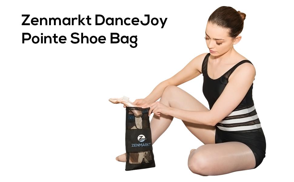 Zenmarkt DanceJoy Ballet Pointe Mesh Shoe Bag