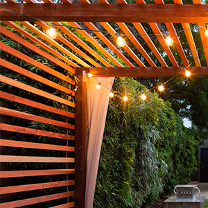 luces de patio
