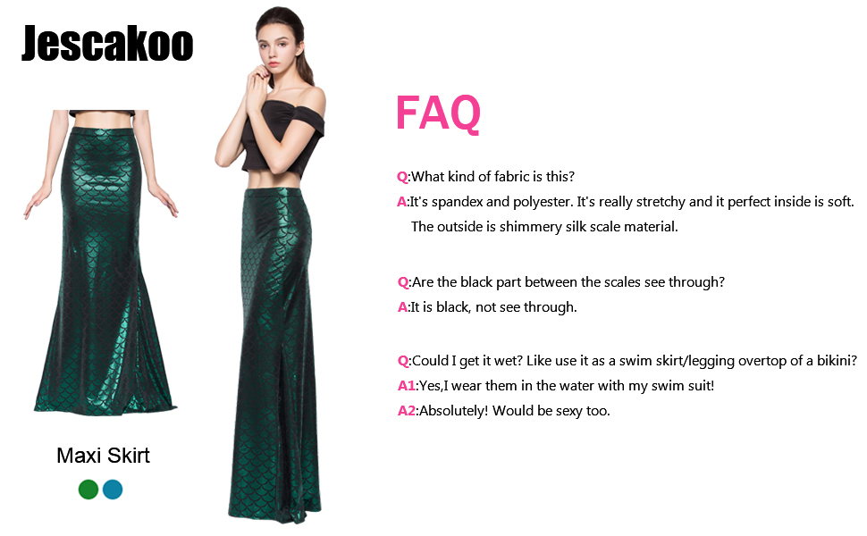 ada3539f809ae Jescakoo Digital Print Mermaid Fish Scale Stretch Leggings Pant for ...