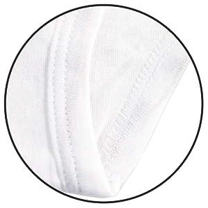 image of white briefs durable seams