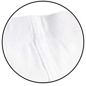 image of covered elastic waistband