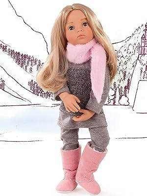 "happy kidz and other 18/"" dolls Hello Kitty rock star coat fit gotz doll hannah"