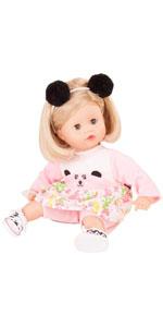 Amazon.com: Gotz Muffin Wild Cat - Muñeca de bebé de 13.0 in ...