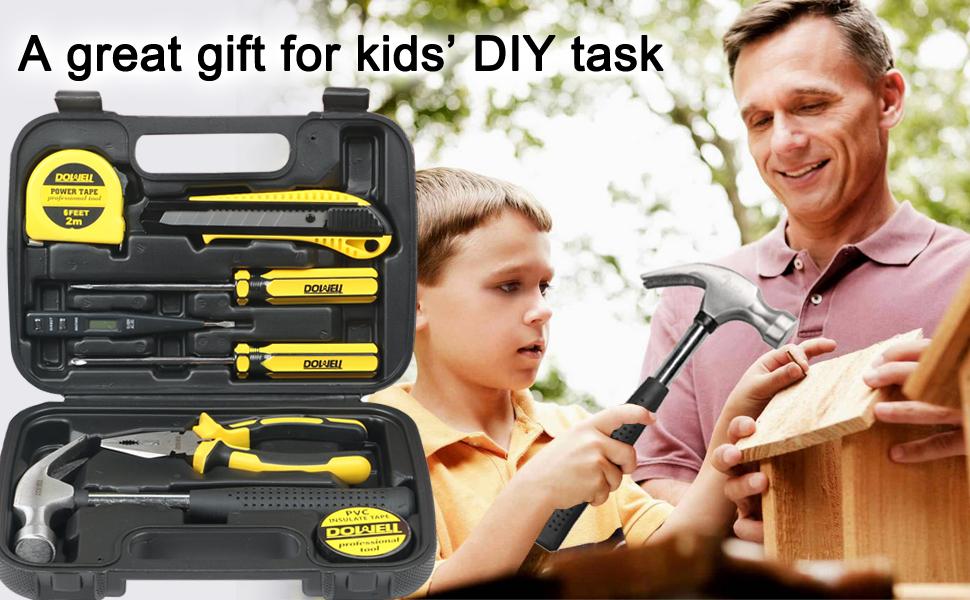 small tool kit for home repair DIY tasks
