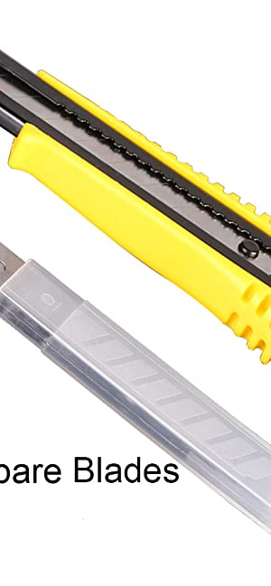 utility knife and spare blades