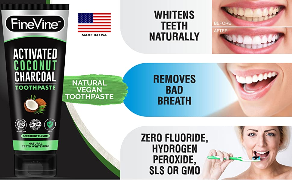 carbon cocoa black teeth whitening paste