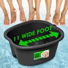 Amazon.com: Foot Soaking Bath Basin – Large Size for