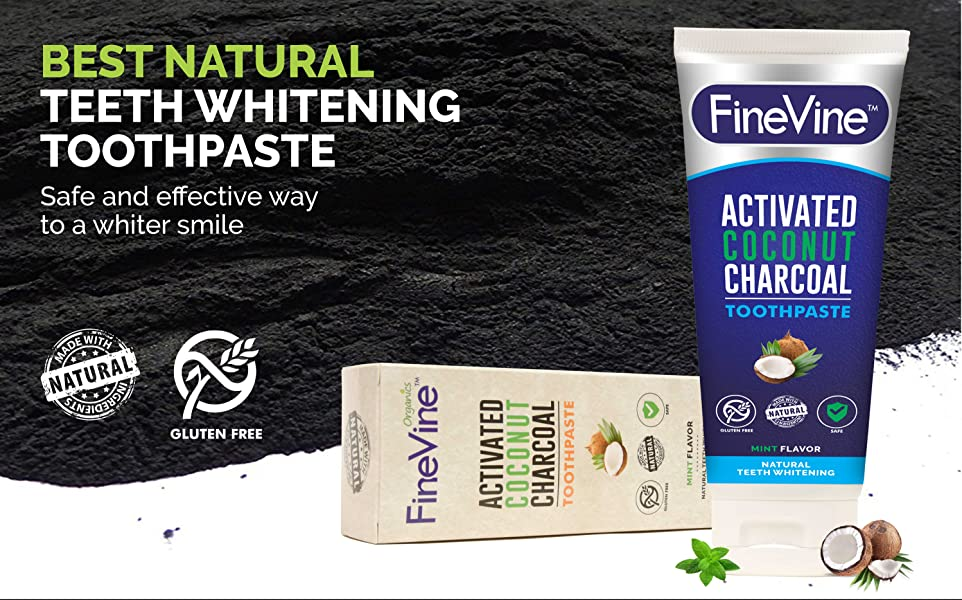 activated charcoal teeth whitening toothpaste made in usa removes bad breath and. Black Bedroom Furniture Sets. Home Design Ideas