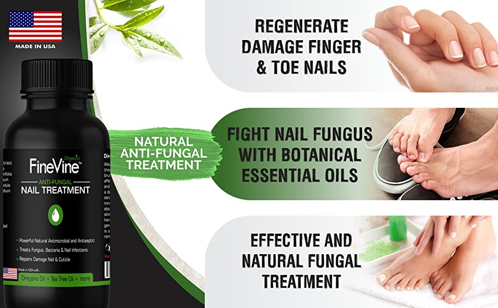 Nail Fungus Treatment Anti Fungal Natural Repair Magic Brush Finger ...