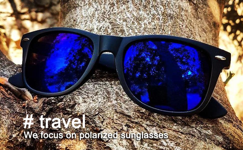 mens polarized wayfarer sunglasses