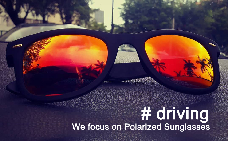 wayfarer sunglasses for driving