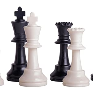 Triple Weighted Chess Pieces