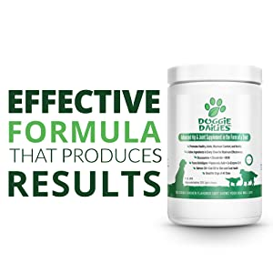 Joint supplement for dogs, palm oil free formula, made in the USA