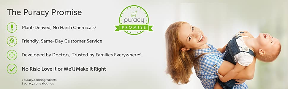 Puracy Natural Dish Soap Refill Pouch Promise