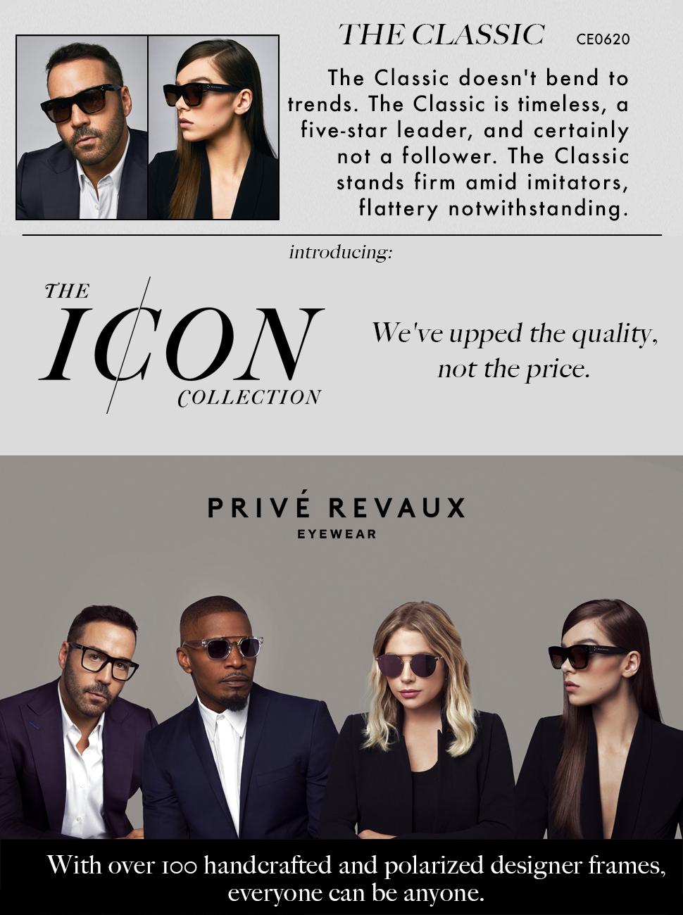 """518cee4e3f Amazon.com  PRIVÉ REVAUX ICON Collection """"The Classic"""" Designer ..."""
