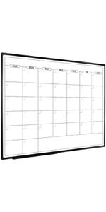 calendar board 48x36