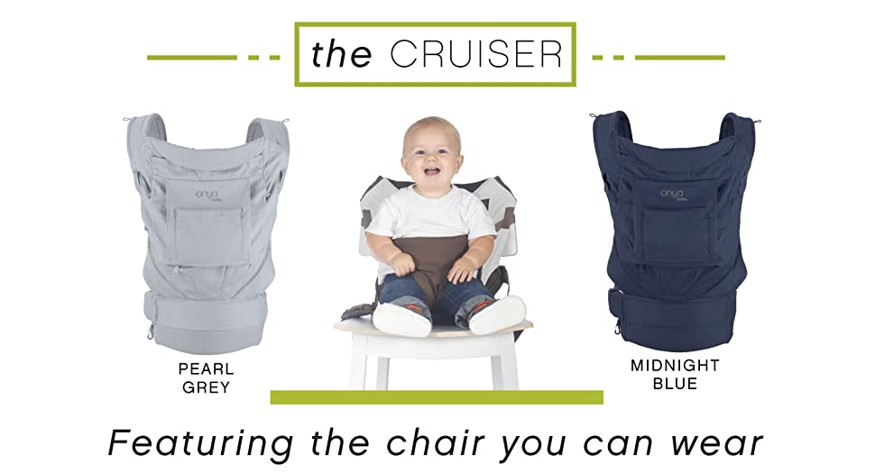 644a1b19674 Amazon.com   Onya Baby Cruiser Baby and Child Carrier