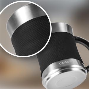 Slip-resistant silicone