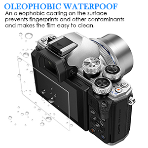 Residue-Free Removal 6 Protective Films Very Simple Assembly 6X MEXXPROTECT Ultra-Clear Screen Protector for Olympus OM-D E-M10 Mark III 100/% accurately Fitting