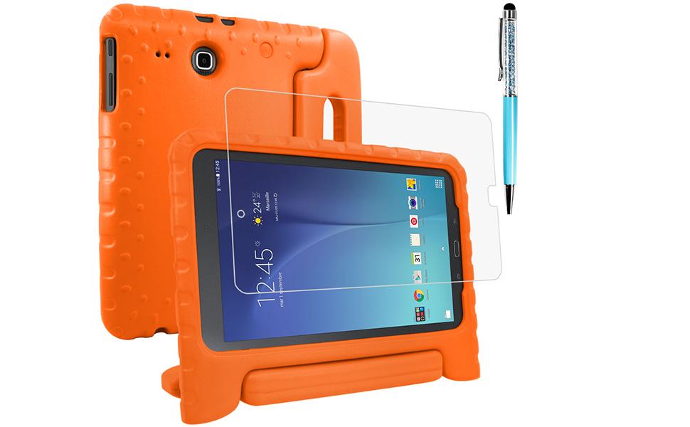 Amazon.com: Carcasa protectora para Samsung Galaxy Tab E 9.6 ...