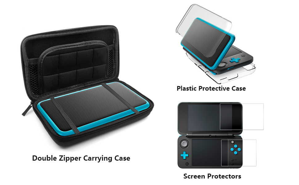Amazon.com: Fundas Protectoras para Nintendo New 2DS XL con ...