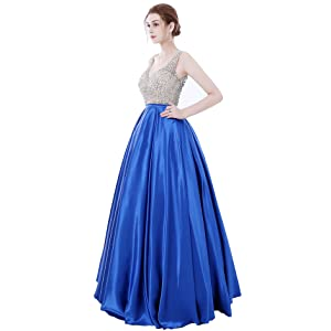 The Brand New long prom dress is perfect for parties or other special occasions (Evening & Formal & Party & Women & Graduation & Homecoming & Junior) where ...