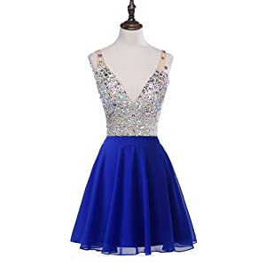 We always try to supply the high quality dresses. This new short prom ...