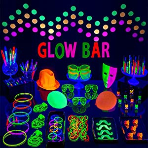 Amazoncom Black Light Wowtou 27w 385nm Uv Led Bar Glow In The
