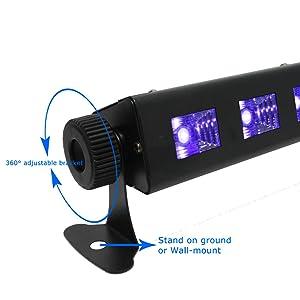 Black Light Bar-UV-LED-Ultraviolet Lamp-Curing Glue Ink Resin-Rental