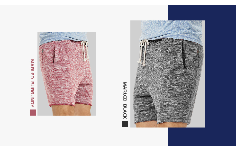 OVERDOES Drawstring Sport Shorts Fashion Mens Sport Pocket Casual Comfortable Sweatpants