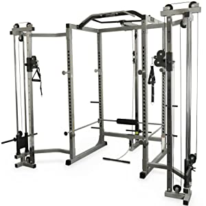 Amazon Com Valor Fitness Bd 11 Hard Power Rack W Chrome