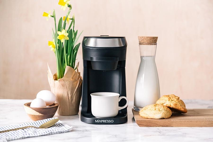 Amazon.com: MiXPRESSO - Cafetera de una sola serie para ...