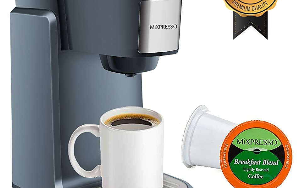 Amazon.com: Mixpresso – Cafetera de una sola serie ...