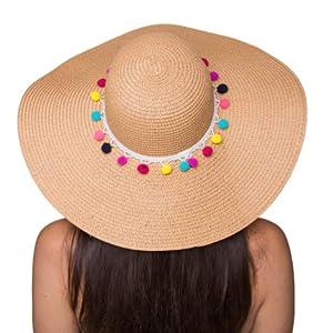 87fbc2be The Chic Soul Beach Floppy Hat for Bridal Shower Gift Bachelorette ...
