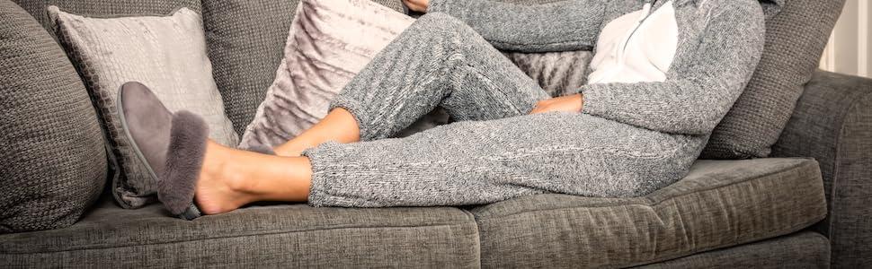 grey mink reflexology massage slippers boost metabolism energy levels healthy lifestyle natural