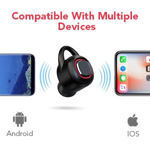 True Wireless Earbuds, MEBUYZ Wireless Bluetooth Headphones