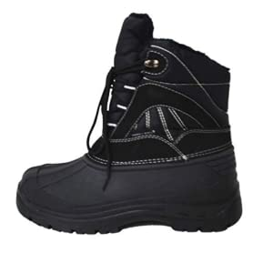water resistant snow boots for men