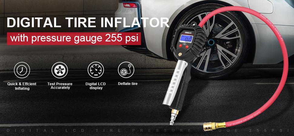 Amazon Com Gooloo Digital Tire Pressure Gauge 255 Psi Tire