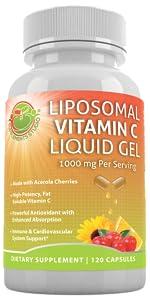 lipososmal vitamin c fat soluble vitamins immune system cardiovascular system support anti aging