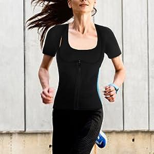 women waist trainer vest fit for running